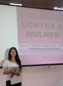 Evento Mulher Esportista - Palestrante Roberta Lídice - Advogada