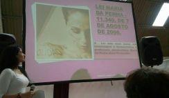 """Violência Contra a Mulher – Evento: """"Dia Internacional da Mulher Esportista"""" – Secretaria Municipal de Esportes e Prefeitura de São Paulo."""