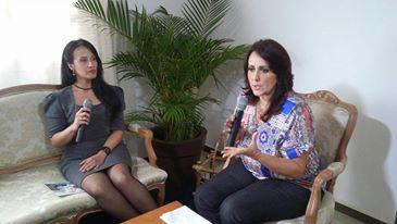 """*Roberta Lídice, fala sobre o tema """"Violência doméstica"""" no programa Cotidiana. Roberta Lídice, fala sobre o tema """"Violência domést"""