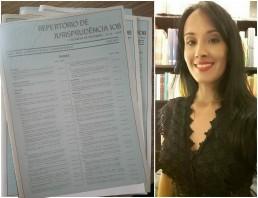 """REPERTÓRIO DE JURISPRUDÊNCIA IOB Caros leitores, O Repertório de Jurisprudência IOB, Edição n° 21, já está disponível aos assinantes dos produtos IOB SÍNTESE – Editorial SAGE. No volume I desta edição, para compor a Seção """"Doutrina"""", foi publicado texto de minha autoria, intitulado: """"O Papel da Ouvidoria Pública Como Instrumento de Participação Cidadã"""" Repertório de Jurisprudência IOB: o mais atual em informações jurisprudenciais e doutrinárias. Para mais informações, acesse: http://www.iobstore.com.br/ http://www.sintese.com/revistas_juridicas.asp Bons Estudos!! Roberta Lídice. *ISSN 2175-9987. LÍDICE, Roberta. Repertório de Jurisprudência IOB, n° 21, 2017, vol. I – Tributário, Constitucional e Administrativo. Ementa 1/36194 – pp. 895-893."""