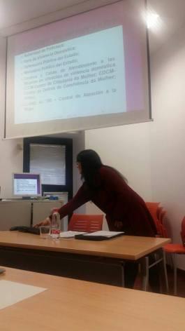 *Roberta Lídice: Profesora Conferenciante del Máster Universitario en Acceso a la Abogacía en la Universidad de Castilla-La Mancha (UCLM) - España. Dictando clase en el Máster Universitario en Acceso a la Abogacía d