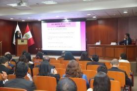 """*XI CONGRESO NACIONAL DE JUECES DEL PODER JUDICIAL DEL PERÚ Segundo Eje: """"La protección judicial para prevenir, sancio"""