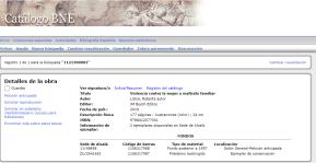 """*Biblioteca Nacional de España (BNE) *Obra incorporada al acervo bibliográfico de la prestigiosa Biblioteca Nacional de España: """"Violencia Contra la Mujer y Maltrato Familiar"""" - Autora: Roberta LÍDICE. Para obtener más información, por favor consulte los siguientes enlaces: *Biblioteca Nacional de España - Catálogo BNE: http://catalogo.bne.es/uhtbin/cgisirsi/x/0/0/5/?searchdata1=1121300002 *WorldCat - Roberta Lídice: https://www.worldcat.org/title/violencia-contra-la-mujer-y-maltrato-familiar/oclc/1151078741&referer=brief_results *Librería Bosch - Barcelona: http://libreriabosch.com/Shop/Product/Details/41509_violencia-contra-la-mujer-y-maltrato-familiar ¡Buena Lectura!/ Have a Good Reading! ©ROBERTA LÍDICE. Copyright © 2014-2020 ROBERTA LÍDICE. São Paulo – Brasil."""