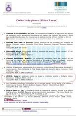 """*La Biblioteca del ICAB organizó una exposición de libros y una bibliografía sobre el 25-N: Día Internacional contra la Violencia de Género. En este sentido, se subraya que entre los libros indicados en esta relevante bibliografía, se encuentra la obra """"Violencia Contra la Mujer y Maltrato Familiar"""", de la autora Roberta LÍDICE. Info: .Ilustre Colegio de la Abogacía de Barcelona (ICAB): https://www.icab.es/en/actualitat/noticies/news/La-Biblioteca-del-ICAB-prepara-una-exposicion-de-libros-y-una-bibliografia-sobre-el-25-N/ .Biblioteca del Ilustre Colegio de la Abogacía de Barcelona (ICAB): http://biblio.icab.cat/cgi-bin/abnetopac/O7021/ID27d14929?ACC=161 .Catálogo Colectivo de las Universidades de Catalunya (CCUC): https://ccuc.csuc.cat/search~S23*spi/?searchtype=X&searcharg=Roberta+L%C3%ADdice+&searchscope=23&sortdropdown=- .Librería Bosch: http://libreriabosch.com/Shop/Product/Details/41509_violencia-contra-la-mujer-y-maltrato-familiar ¡Buena Lectura!/ Have a Good Reading! Roberta Lídice."""