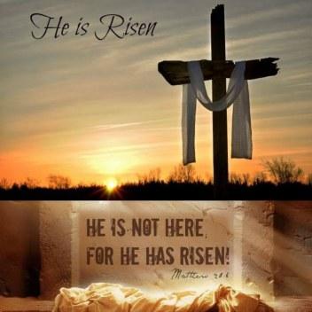 """""""He is not here; for He has risen"""" – (Matthew 28:6). Happy Easter! Feliz Páscoa! ¡Felices Pascuas! Roberta Lídice ...✍🏻"""